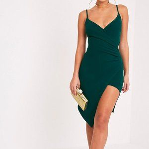 Pretty Little Thing Lauriell Wrap Front Dress